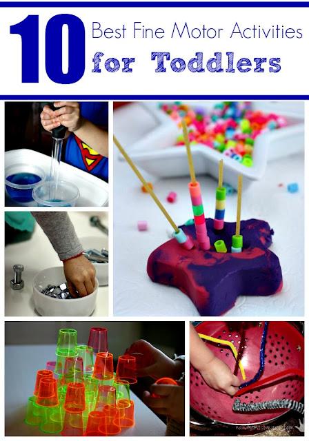 10 Best Fine Motor Activities for Toddlers and Preschoolers