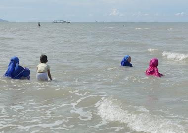 Pantai Pasir Padi di Pangkalpinang