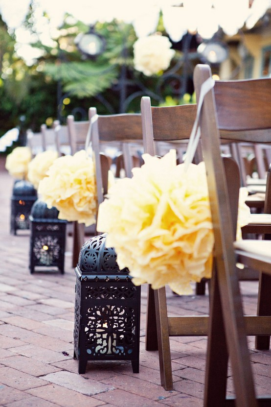 Ideas on how to decorate your aisle stonebridge manor for Aisle decoration for wedding