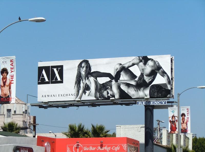AX Bodies of Summer billboard