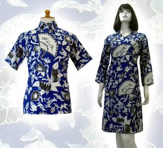 batik+a79 BAJU BATIK wanita pria dan anak muda