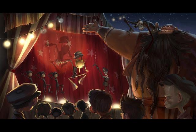 pinocho del toro 2 - Guillermo del Toro producirá Pinocho!