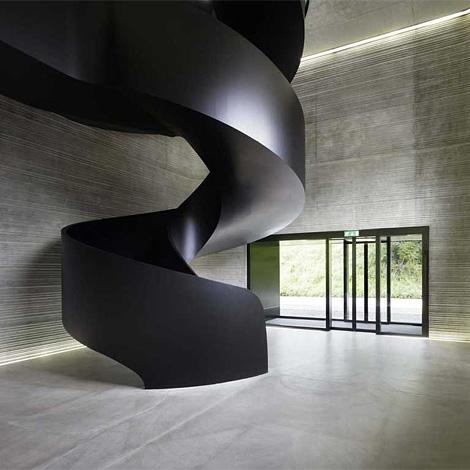 Multinotas escaleras dise os modernos - Escaleras semi caracol ...