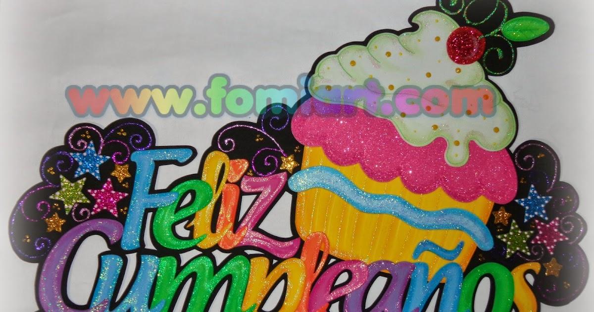 Letrero: Feliz Cumpleaños - Fomiart