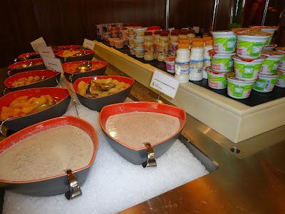 Yogurt Milk etc in Assymetri Restaurant, Raddison Blu Hotel Yas Island Abu Dhabi