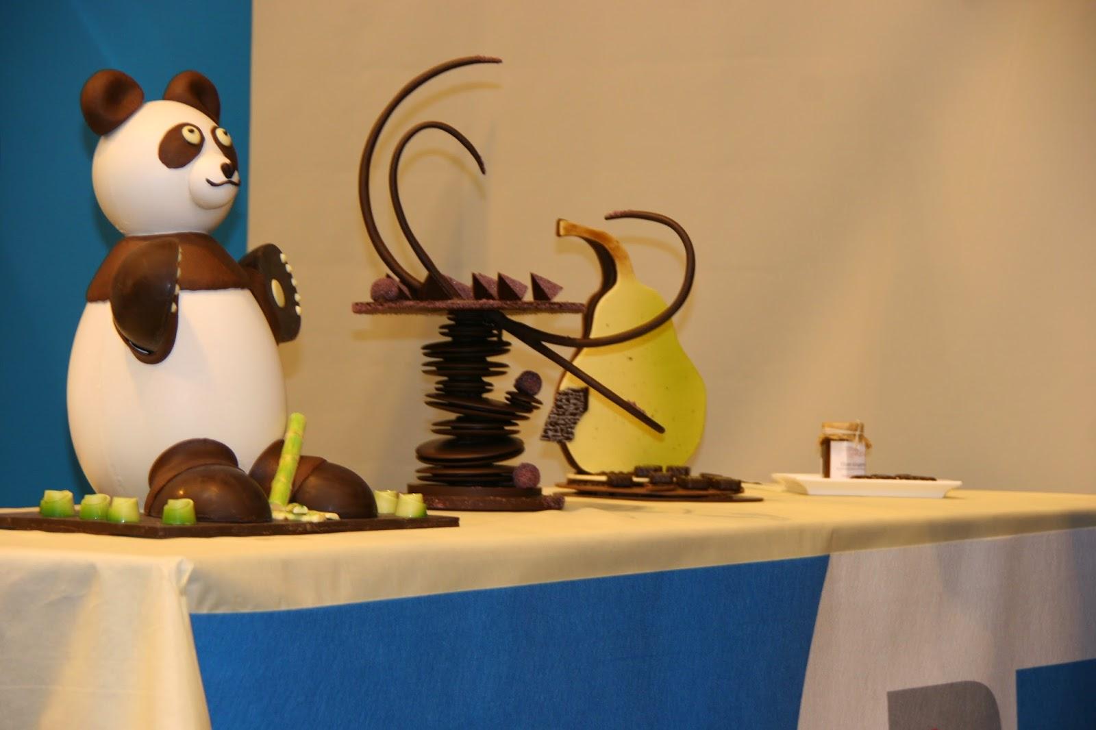 Scupltures chocolat