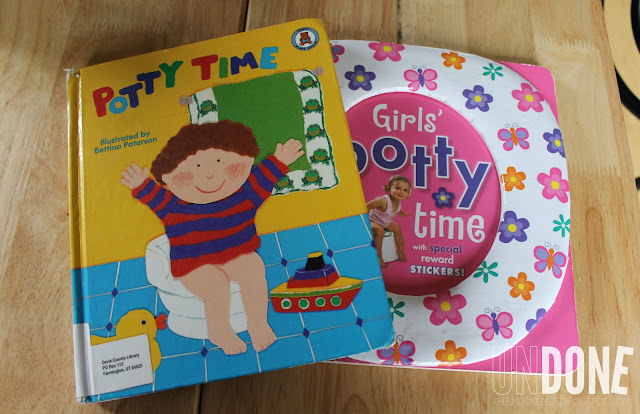 UNDONE: Potty Training a toddler - Potty books