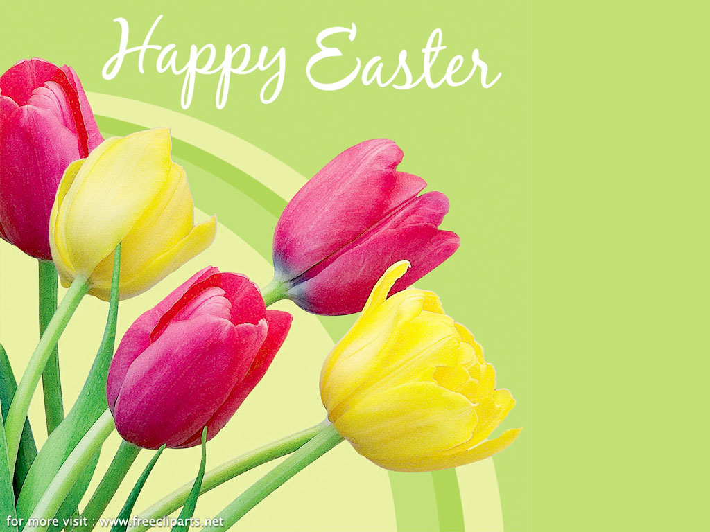 Happy Easter Religious Clip Art Free