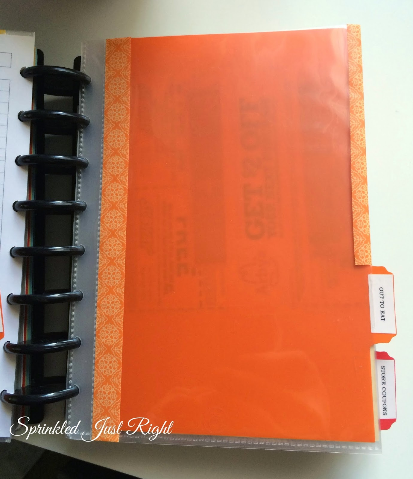 how to make your own notebook dividers