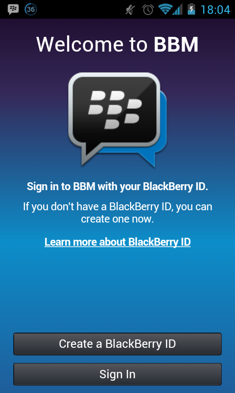 Blackberry Messenger (BBM) Buat Android Gratis Download