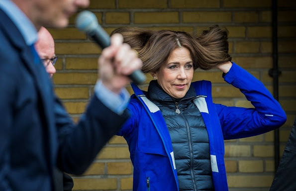 Crown Princess Mary of Denmark accompanied by representatives from the Mary Fonden opened Råd til Livet (Advice for Life) at Mødrehjælpen