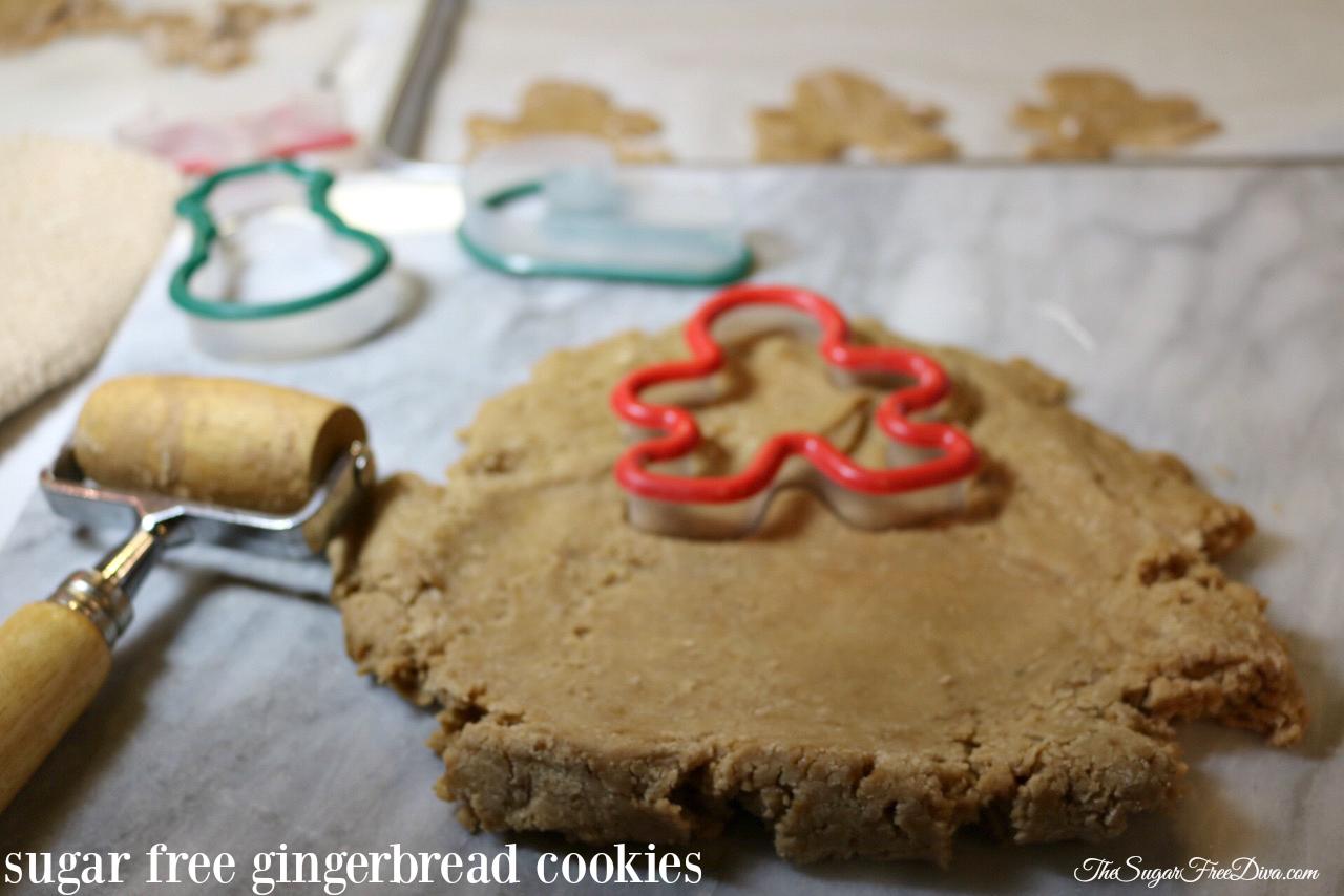 Sugar Free Ginger Bread Cookies