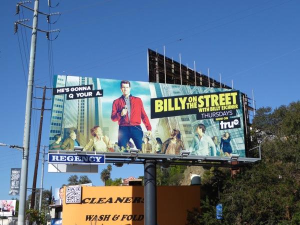 Billy on the Street season 4 billboard