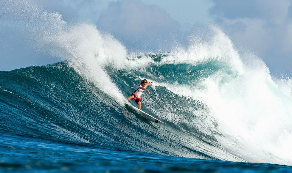 34 Vans World Cup of Sufing 2014 Billy Stairmand Foto ASP