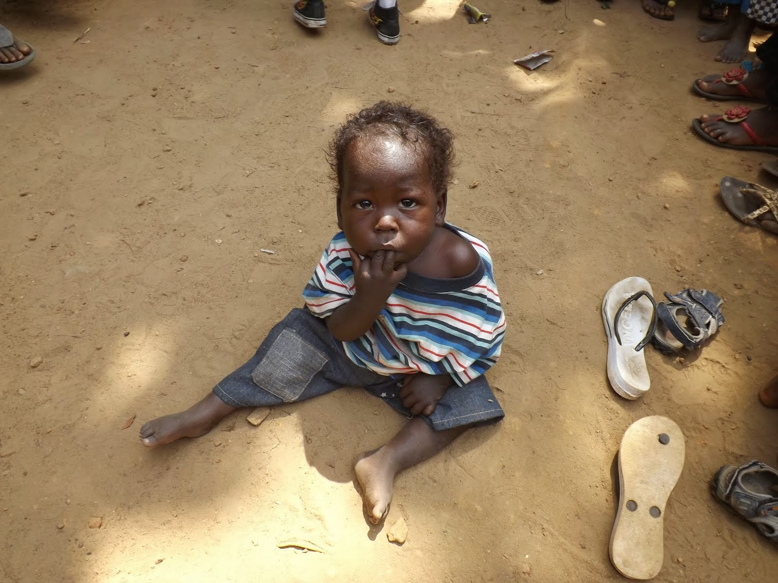 Orphans in Monrovia Liberia