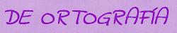 RECURSOS ORTOGRAFÍA