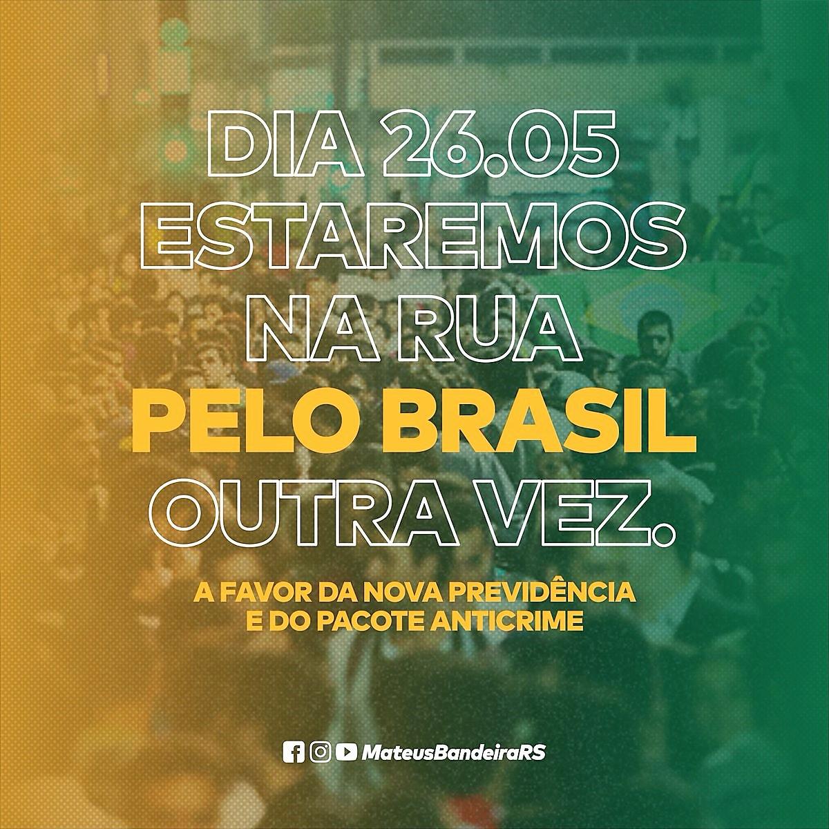 Pelo Brasil, outra vez!