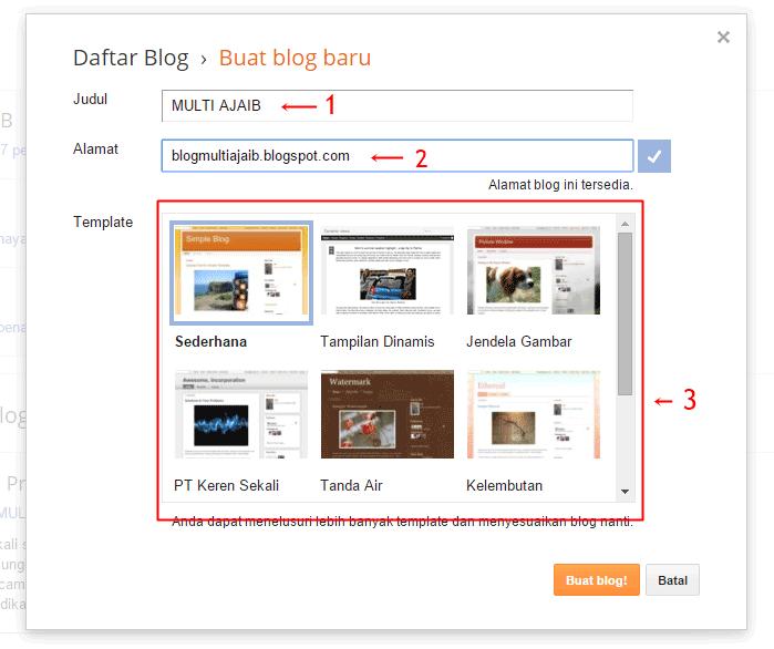 cara membuat blog tebaru