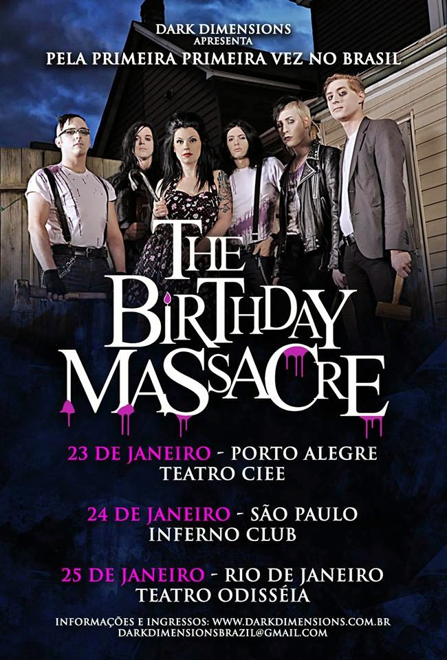 The Birthday Massacre Brazil tour