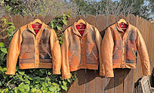 """Mister Freedom® LAWRENCE jacket Special """"SUNSHINE"""" Edition. Made in USA, suntanned in California"""
