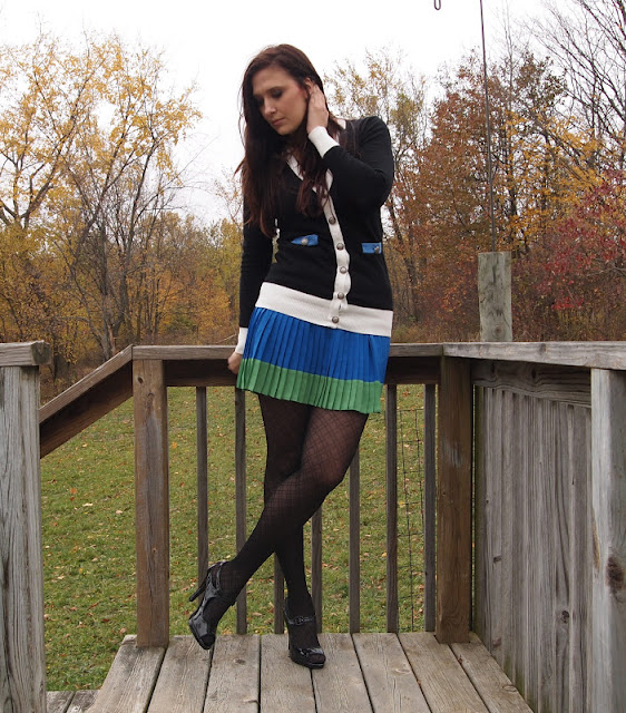 Sweater: Forever 21, Skirt: Aeropostale, Shoes: maurices