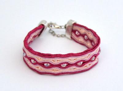 sutasz bransoletka soutache bracelet 10