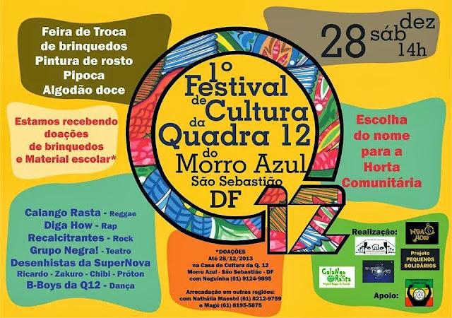 Festival de Cultura da Quadra 12 do Morro Azul