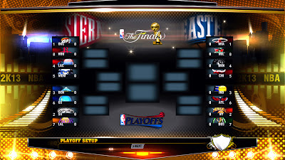 NBA 2K13 Playoffs 2013 (16 Teams)