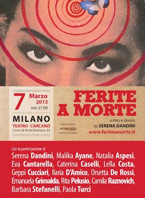 Ferite a morte - Serena Dandini Milano 7 marzo 2013