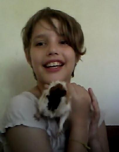 Beatriz, agora com 10 anos.