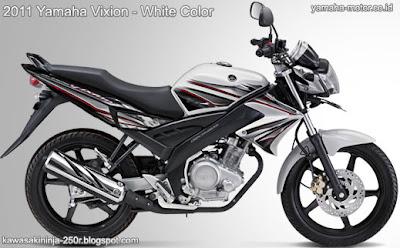 2011 Yamaha Vixion white