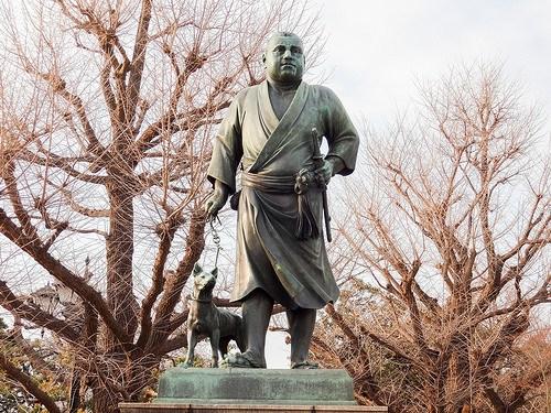 「開国」の立て役者: 「西郷どん」<br>(上野公園にある銅像)