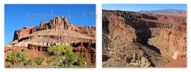The Castle and Goosenecks at Capitol Reef National Park