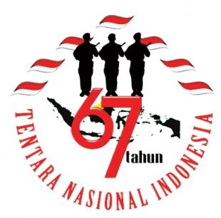 tema dan logo hut tni ke-67