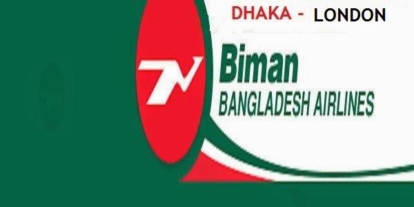 Dhaka-London Flight Fare of Biman Bangladesh Airlines
