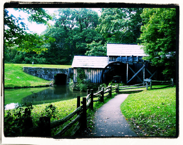 Photo by your innkeeper Shellie at The Claiborne House B&B of Mabry Mill