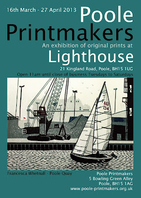 Poole Printmakers Exhibition at Lighthouse, Poole
