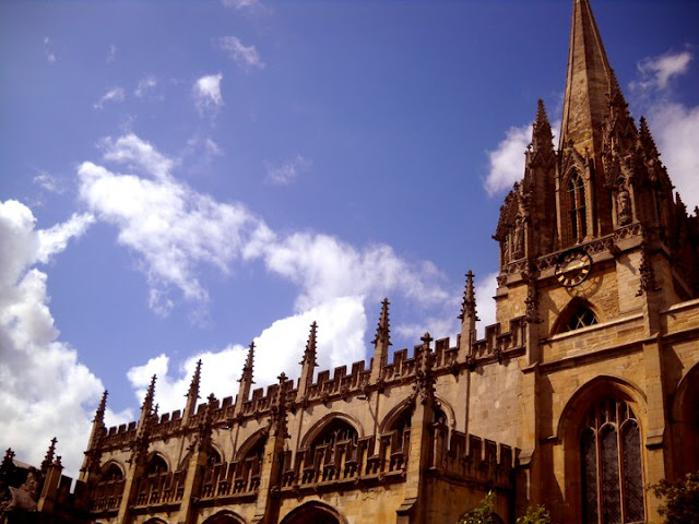 Cathedral in Oxford, England