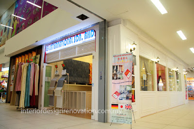 Renovation interior exterior design Shoplot retail outlet shopping mall  kuala lumpur KWC kenanga