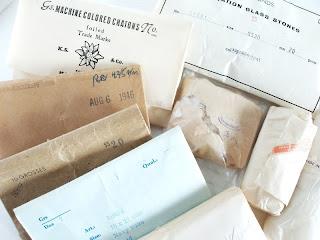 vintage ehte valmistamise materjalid