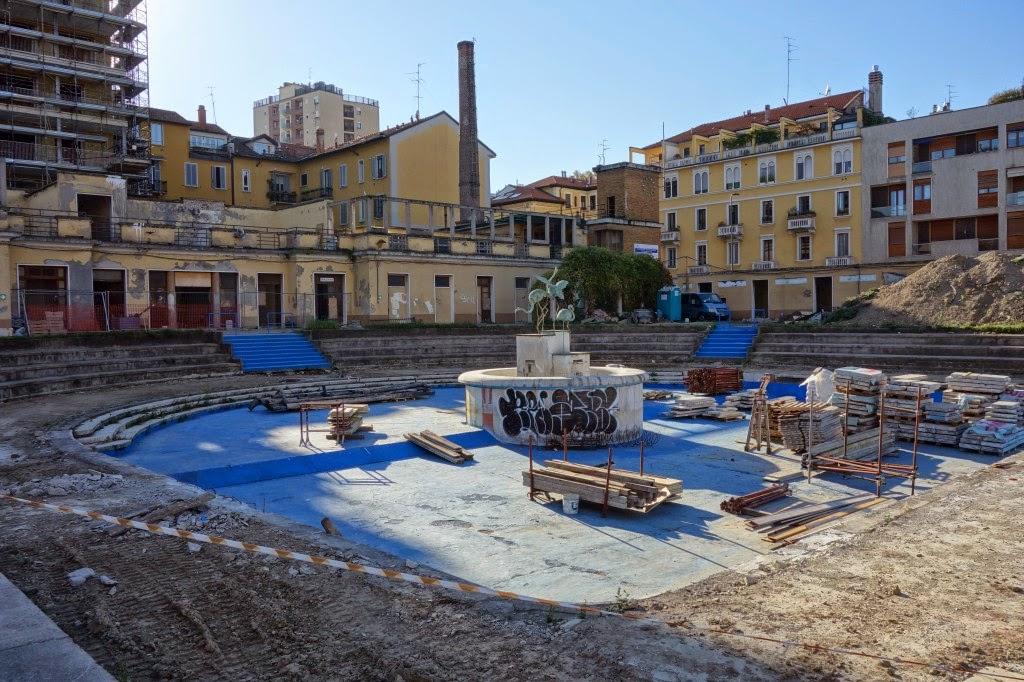 Zona porta romana la piscina caimi in restauro - Piscina porta romana milano ...