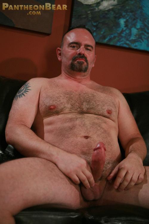 Old Bear Men Naked