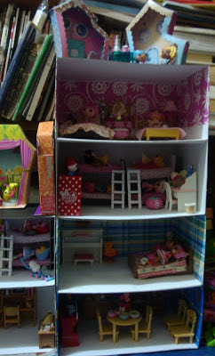 Dollbox, four-storey