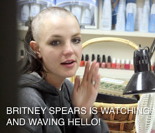 britney spears bald calva