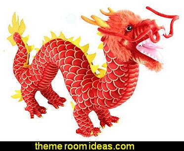 Chinese Dragon Plush Stuffed Animal Doll Toy Novel Gift
