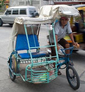 Pedi cab cebu