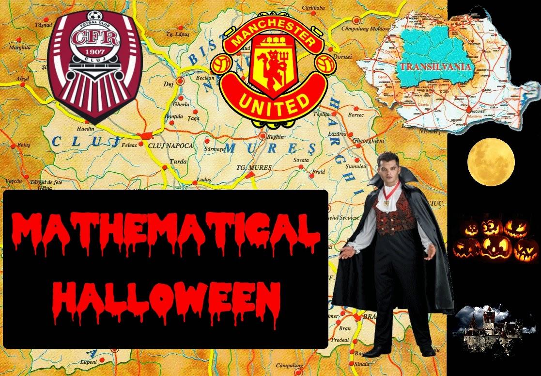 Mathematical Halloween: vampire numbers