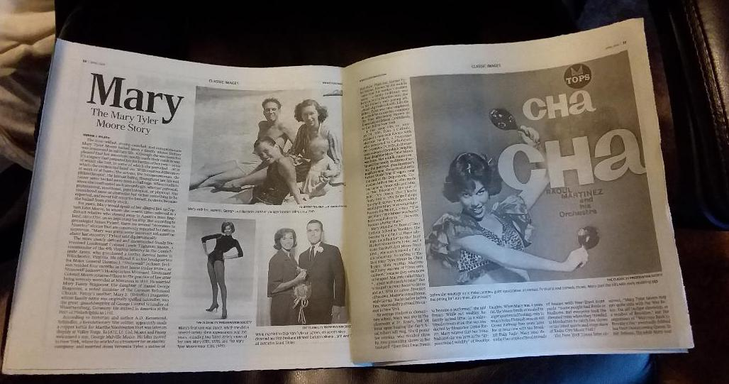 MARY excerpted in Classic Images Magazine