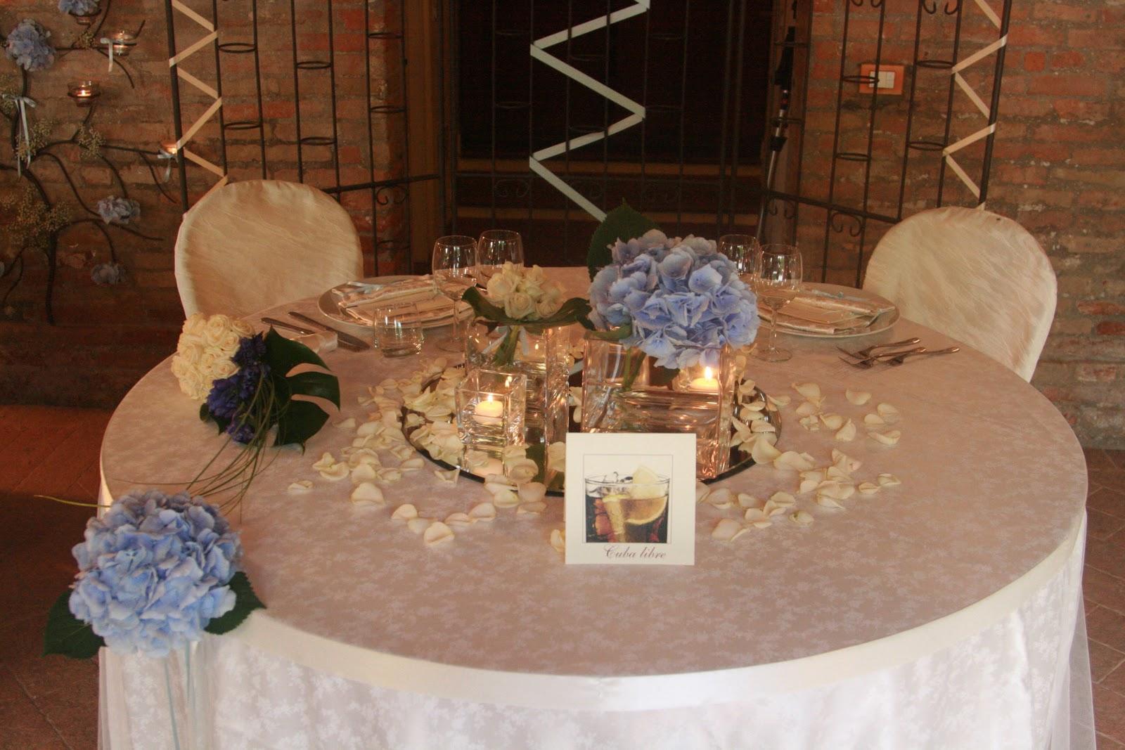 Mareventi wedding planner ravenna allestimenti floreali - Tavolo matrimonio casa sposa ...