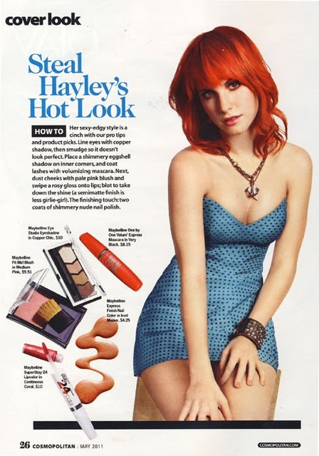 hayley williams cosmopolitan pictures. hayley williams cosmopolitan